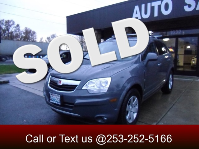 2008 Saturn VUE XR AWD Our 2008 Saturn VUE XR stands tall and serves up some stiff competition in t