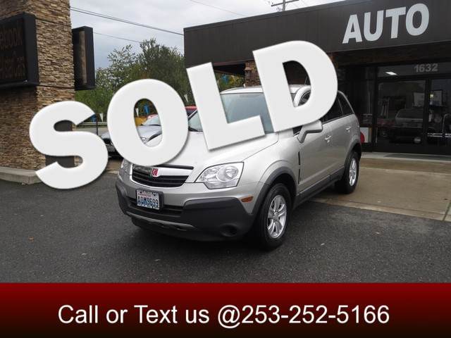 2008 Saturn VUE XE The CARFAX Buy Back Guarantee that comes with this vehicle means that you can b