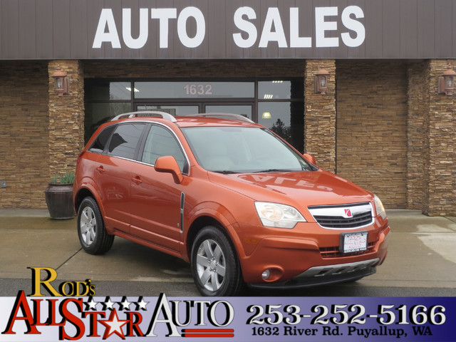 2008 Saturn VUE XR AWD The CARFAX Buy Back Guarantee that comes with this vehicle means that you c