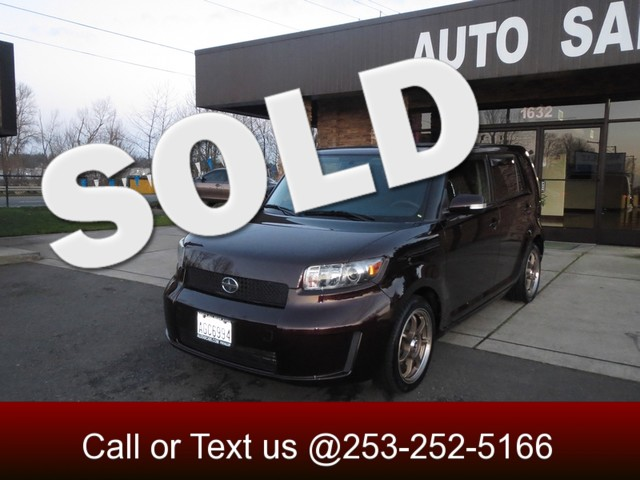 2008 Scion xB If you want a small SUV that comes with good mpg you may think you have to give up s