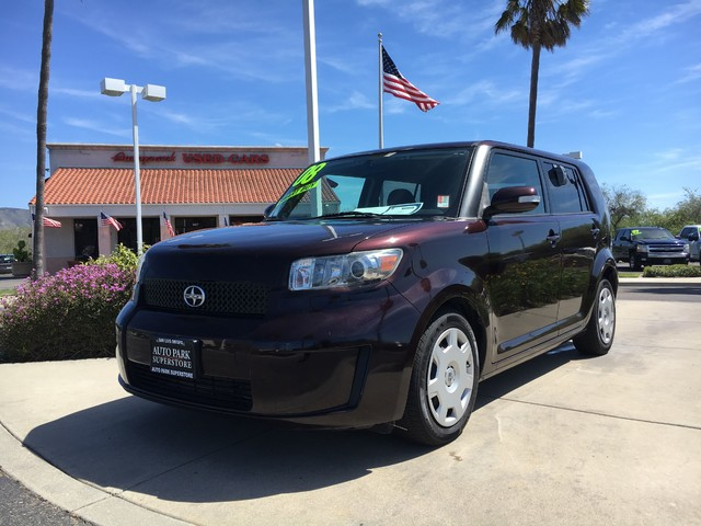 2008 Scion xB This is a 2008 Scion XB Burgundy Exterior Black Cloth Interior 24L 4cyl Automat