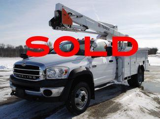2008 Sterling Bullet Bucket Truck, 45' LT40, 400 lbs, 4X4, Auto ., .