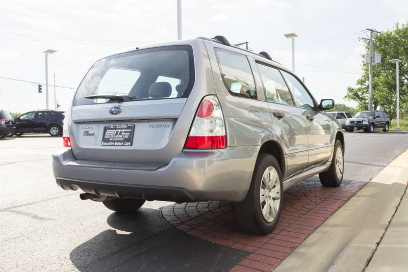 2008 Subaru Forester X  Lake Forest IL  Executive Motor Carz  in Lake Forest, IL