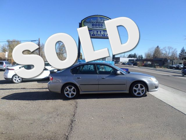 2008 Subaru Legacy with Sunroof (30 Day Powertrain Warranty) Golden, Colorado 0