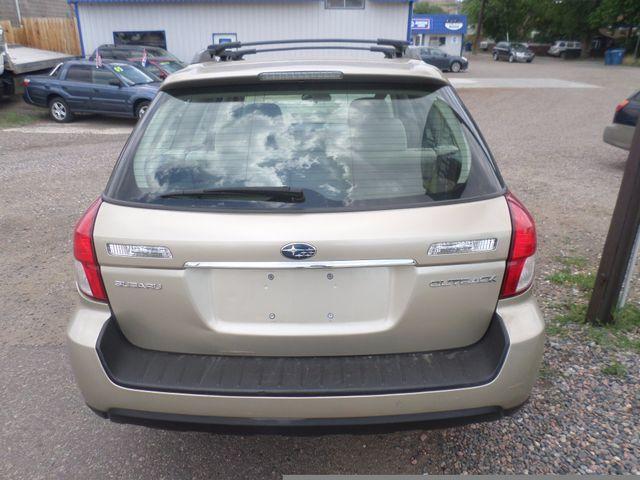 2008 Subaru Outback i Golden, Colorado 4