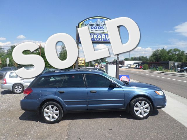2008 Subaru Outback i Golden, Colorado 0