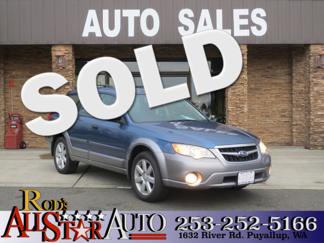2008 Subaru Outback AWD The CARFAX Buy Back Guarantee that comes with this vehicle means that you