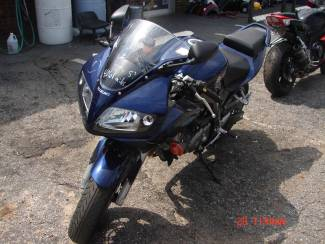 2008 Suzuki SV650 Spartanburg, South Carolina 4