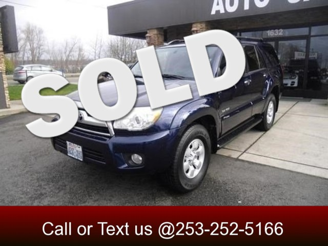 2008 Toyota 4Runner Sport 4WD If you want a reliable suv you can use for years then keep on reading