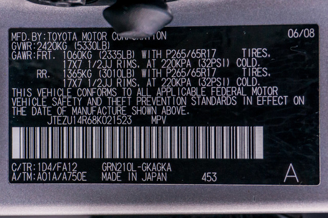 2008 Toyota 4Runner SR5 - AUTO - 46K MILES - TOW PKG - SUNROOF Reseda, CA 35