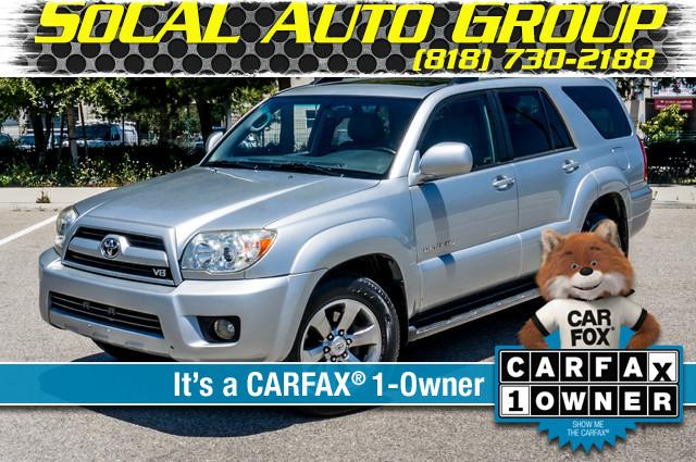 2008 Toyota 4Runner Limited 4WD - LTHR - NAVI - HTD STS - SUNROOF Reseda, CA 0