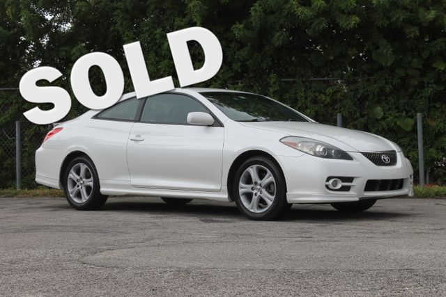 2008 Toyota Camry Solara Sport  WARRANTY CARFAX CERTIFIED 1 OWNER FLORIDA VEHICLE TRADES WE