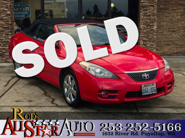 2008 Toyota Camry Solara SLE This vehicle is a CarFax certified one-owner used car Pre-owned vehi