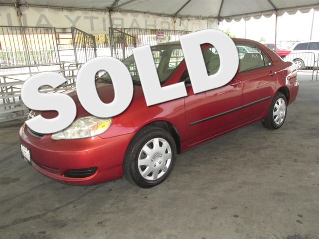 2008 Toyota Corolla CE This particular Vehicles true mileage is unknown TMU Please call or e-m