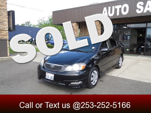 2008 Toyota Corolla S The CARFAX Buy Back Guarantee that comes with this vehicle means that you ca