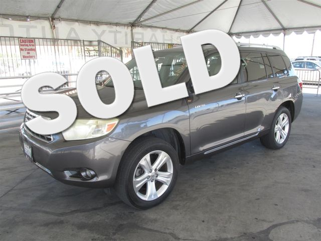 2008 Toyota Highlander Limited This particular Vehicle comes with 3rd Row Seat Please call or e-m