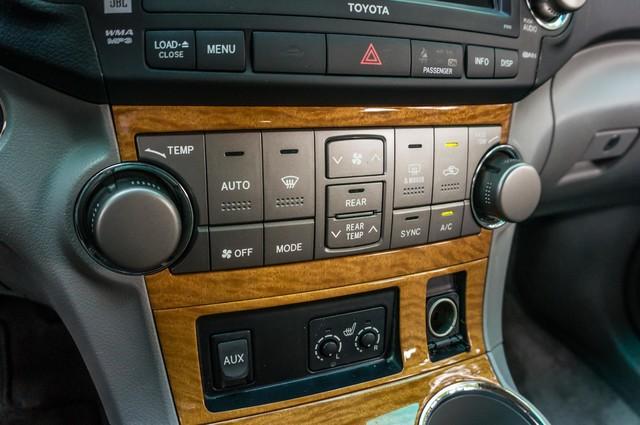 2008 Toyota Highlander Hybrid Limited 4WD - NAVI - 3RD ROW - LTHR - HTD STS Reseda, CA 27