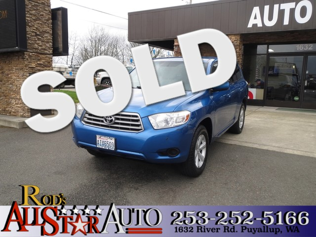 2008 Toyota Highlander AWD The CARFAX Buy Back Guarantee that comes with this vehicle means that y