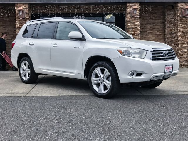 2008 Toyota Highlander Limited White 2008 Toyota Highlander Limited AWD 5-Speed Automatic with Ove