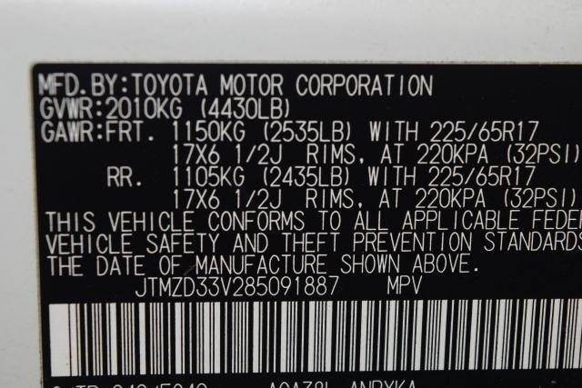 2008 Toyota RAV4 FWD 4dr 4-cyl 4-Spd AT (Natl) Richmond Hill, New York 13
