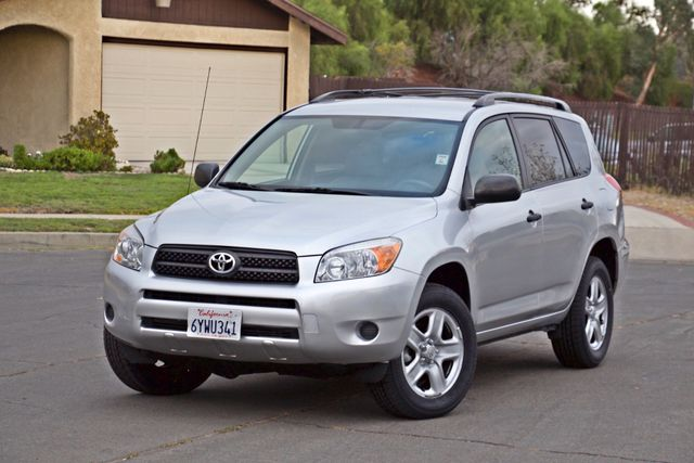 2008 Toyota RAV4 SPORT UTILITY 72K MLS 1-OWNER NEW TIRES 3RD ROW SEAT SERVICE RECORDS! Woodland Hills, CA 2