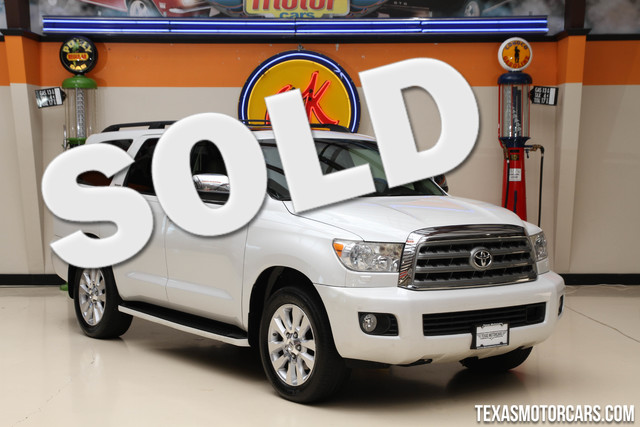 2008 Toyota Sequoia Platinum This Carfax 1-Owner 2008 Toyota Sequoia Platinum is super clean and s
