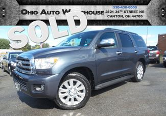 2008 Toyota Sequoia Platinum 4x4 Navi Sunroof Tv/DVD 1-Own We Finance | Canton, Ohio | Ohio Auto Warehouse LLC in  Ohio