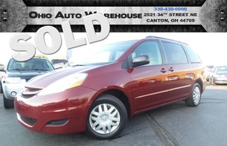 2008 Toyota Sienna LE 3rd Row V6 Clean Carfax We Finance | Canton, Ohio | Ohio Auto Warehouse LLC in  Ohio