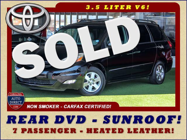 2008 Toyota Sienna XLE - REAR DVD - SUNROOF - HEATED LEATHER! Mooresville , NC 0