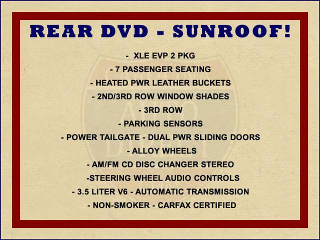 2008 Toyota Sienna XLE - REAR DVD - SUNROOF - HEATED LEATHER! Mooresville , NC 1