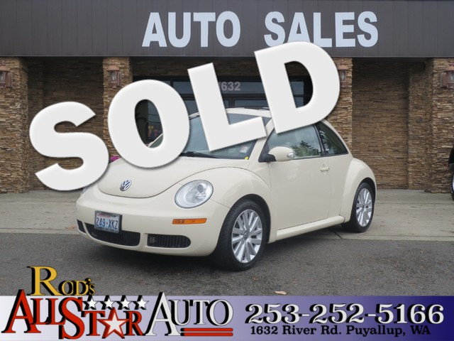 2008 Volkswagen New Beetle S The CARFAX Buy Back Guarantee that comes with this vehicle means that