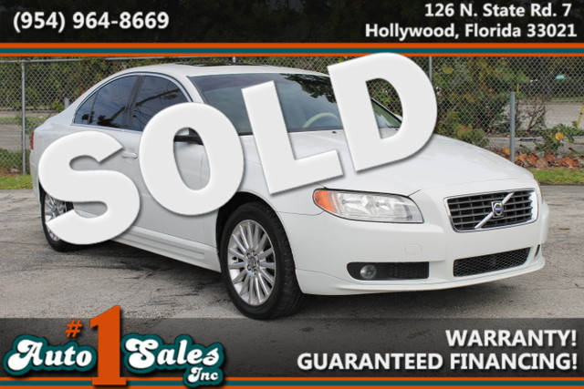 2008 Volvo S80 32L  WARRANTY ONE OWNER LOW MILES 9 SERVICE RECORDS FLORIDA VEHICLE TRADES