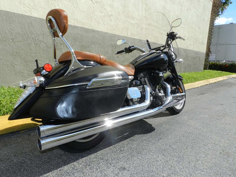 2008 Yamaha Stratoliner Midnight  city Florida  MC Cycles  in Hollywood, Florida