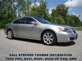 2009 Acura RL TECH PKG, NAVI, ROOF, BACK-UP CAM, AWD in  Tennessee
