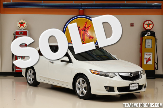 2009 Acura TSX This 2009 Acura TSX is in great shape with only 109 210 miles The TSX has a 24L