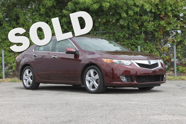 2009 Acura TSX  WARRANTY CARFAX CERTIFIED 29 SERVICE RECORDS FLORIDA VEHICLE TRADES WELCOME