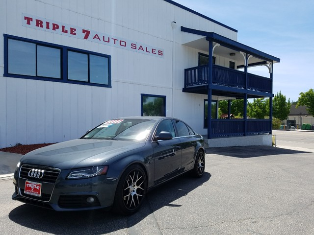 2009 Audi A4 20T Prem Plus  VIN WAUCF78K49N068664 71k miles  AMFM CD Player CD Changer Su