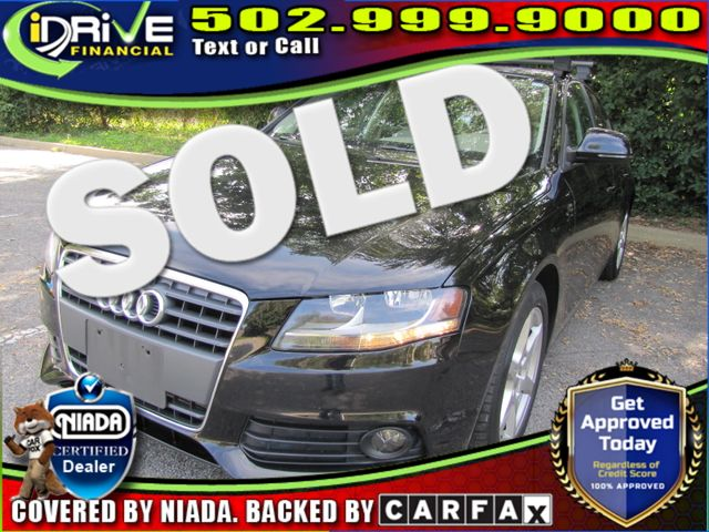 2009 Audi A4 2.0T Prem | Louisville, Kentucky | iDrive Financial in Louisville Kentucky