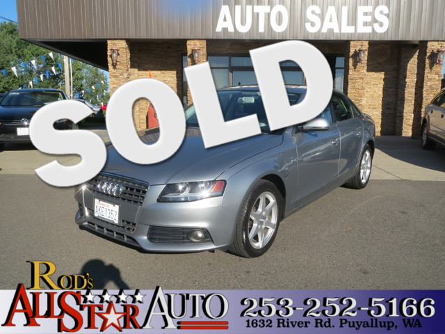 2009 Audi A4 20T Prem The CARFAX Buy Back Guarantee that comes with this vehicle means that you c