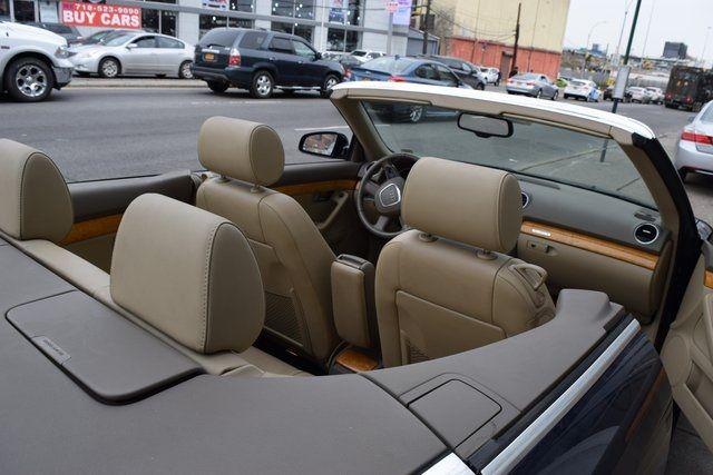 2009 Audi A4 2.0T Cabriolet Richmond Hill, New York 14