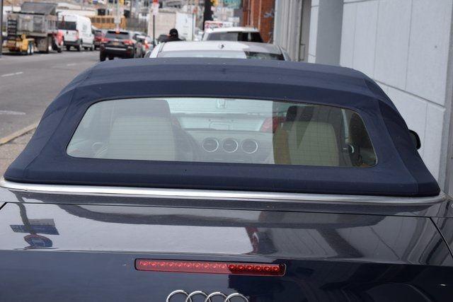 2009 Audi A4 2.0T Cabriolet Richmond Hill, New York 35