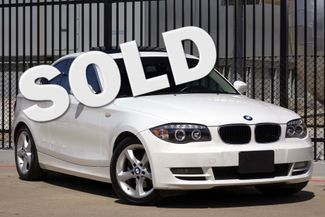 2009 BMW 128i Sunroof * FRESH SERVICE * White/Beige * AUTOMATIC Plano, Texas