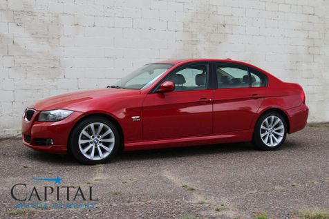 2009 BMW 328xi xDrive AWD Sport Sedan w/Navigation, Moonroof, 6-Speed Manual and VERY Low Miles in Eau Claire