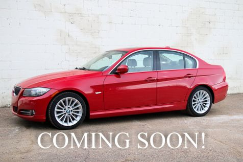 2009 BMW 335d Turbo Diesel Sports Car w/Heated Seats, Heated Steering Wheel, Logic7 Audio & Gets 36MPG in Eau Claire