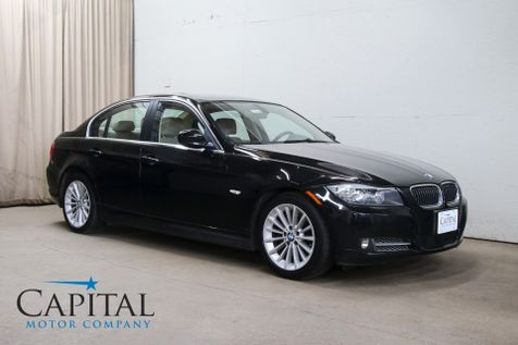 2009 BMW 335d Turbo Clean Diesel Luxury Sports Car w/Heated Seats, Moonroof and Gets 36MPG in Eau Claire