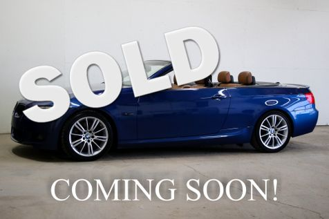 2009 BMW 335i M-Sport Hardtop Convertible with Navigation, Comfort Access & 18