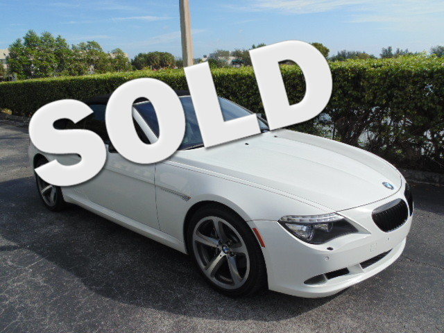 2009 BMW 650i This BMW CERTIFIED 2009 BMW 650CIC CONVERTBLE is a non- smoker florida car is car