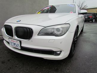 2009 BMW 750Li  Navi / Camera / heads up display Sacramento, CA 4