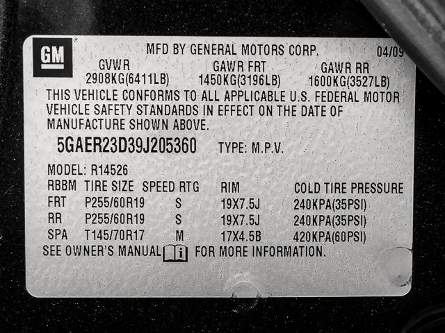 2009 Buick Enclave CXL Burbank, CA 26
