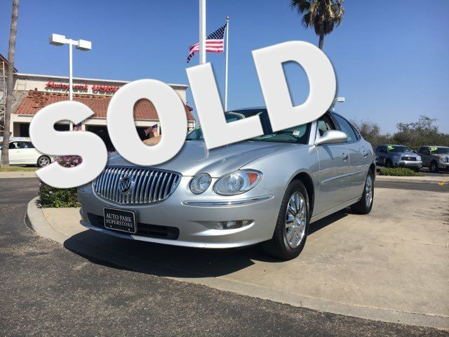 2009 Buick LaCrosse CXL Youll enjoy the benefits of good gas mileage and a smooth ride with this